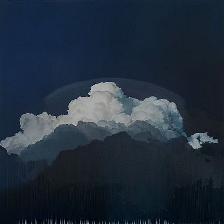 IAN FISHER, ATMOSPHERE NO. 35 oil on canvas
