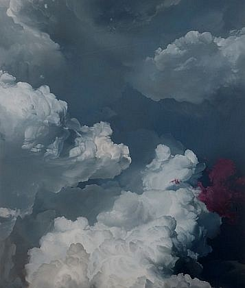 IAN FISHER, ATMOSPHERE N0. 39 oil on canvas