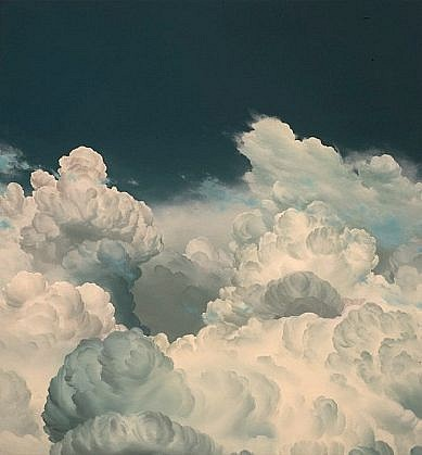 IAN FISHER, ATMOSPHERE NO. 45 oil on canvas