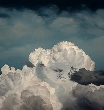 IAN FISHER, ATMOSPHERE NO. 46 oil on canvas