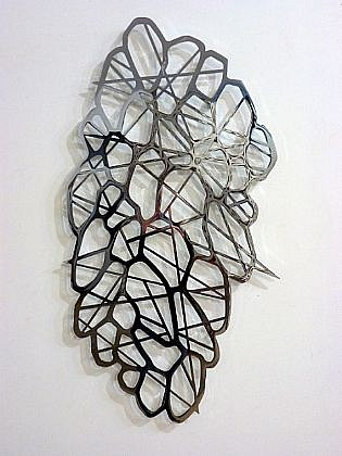 LINDA FLEMING, SHIMMER Ed. 3 chromed steel
