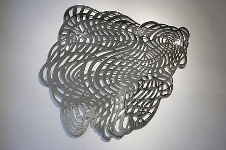 LINDA FLEMING, PORTAL 1/3 chromed steel