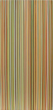 WENDI HARFORD, YELLOW 713 latex acrylic on canvas