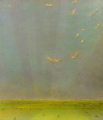 PETER DI GESU, JOSHUA'S ROAD oil on canvas