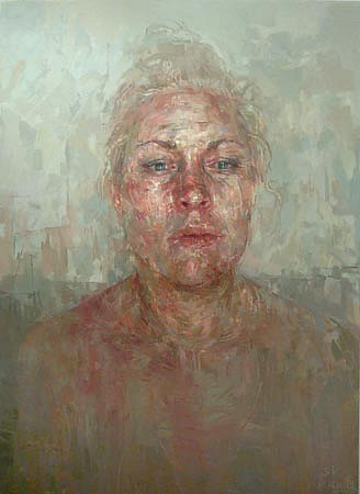 STEFAN KLEINSCHUSTER, Ms. Russell Seated oil on canvas
