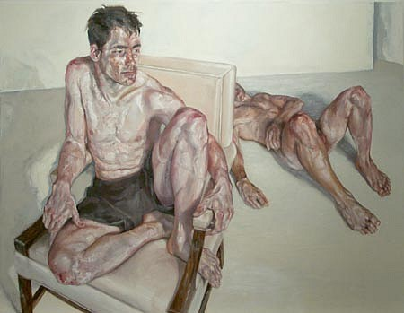 STEFAN KLEINSCHUSTER, Painter and Model oil on canvas