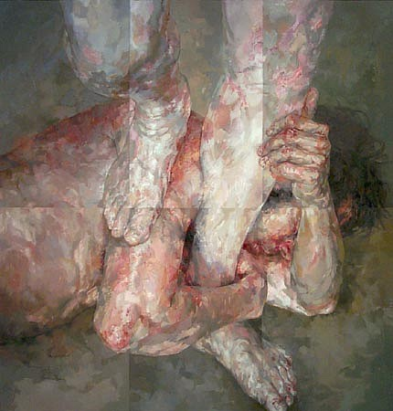 STEFAN KLEINSCHUSTER, Symbiotus I oil on canvas