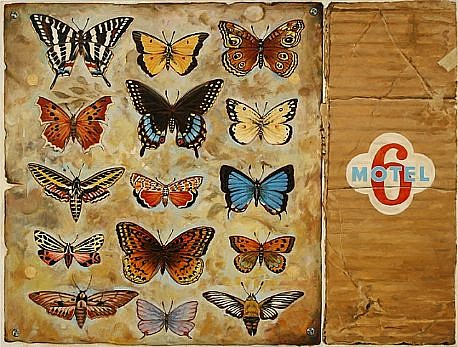 JERRY KUNKEL, TRANSFORMATION oil on canvas