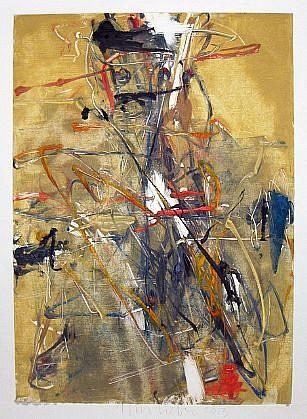 TOM LIEBER, UNTITLED MONOTYPE