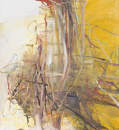TOM LIEBER, YELLOW oil on canvas
