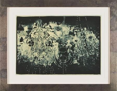 JUDY PFAFF, LIGHT OR DARK HALF no. 1 11/30 photogravure, etching, surface roll