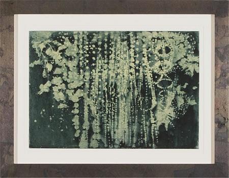 JUDY PFAFF, LIGHT OR DARK HALF no. 2 11/30 spit bite etching, surface roll