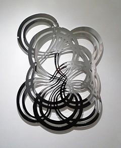 LINDA FLEMING, LOOPY 2/3 chromed steel