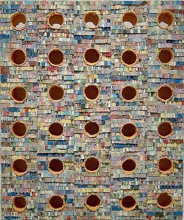 TERRY MAKER, Inside acrylic, canvas, glue