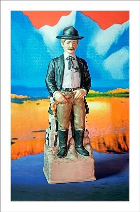 """GARY EMRICH, MARSHALL WITH REFRESHE SPRING WATER """"Firewater""""  Ed. 5 pigment print"""