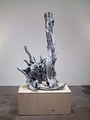 JOHN MCENROE, ARNESON OUT WEST wood and resin with pedestal