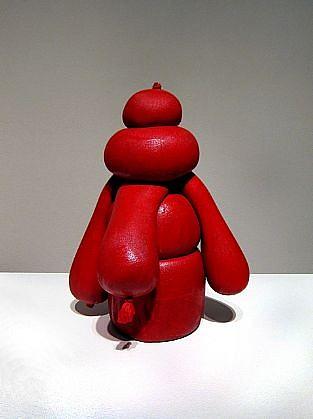 JOHN MCENROE, SAND BAG (Red) resin, nylon and sand