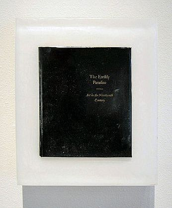 JOHN MCENROE, THE EARTHLY PARADISE: ART IN THE NINETEENTH CENTURY book and resin