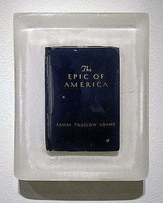 JOHN MCENROE, THE EPIC OF AMERICA book and resin