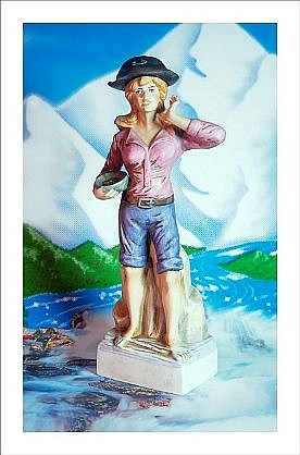 """GARY EMRICH, MOLLY BROWN WITH ARROWHEAD WATER """"Firewater"""" Ed. 5 pigment print"""