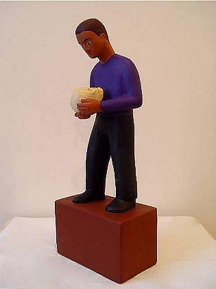 TOM NUSSBAUM, MORTALITY acrylic on resin