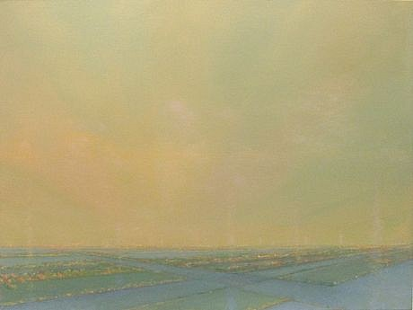PETER DI GESU, PETE'S ROAD oil on canvas