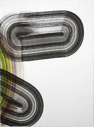 KATE PETLEY, ROLL mixed media on paper