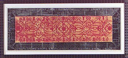 JUDY PFAFF, QUEEN ANNE 5/30 etching, relief roll