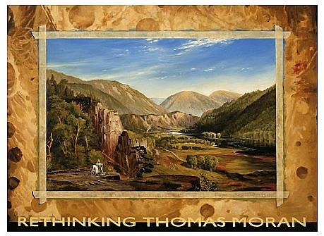 JERRY KUNKEL, REPLICATION (FOR THOMAS MORAN) oil on canvas