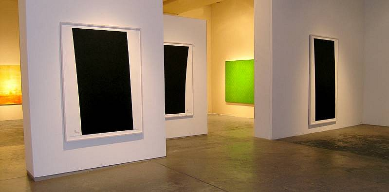 RICHARD SERRA, Richard Serra Installation View