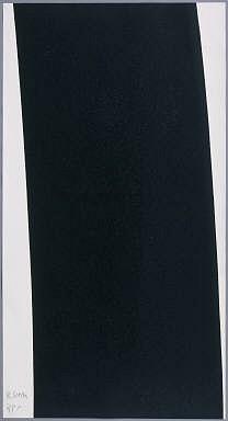 RICHARD SERRA, TRANSVERSAL #1 ed. 12/38 one color etching