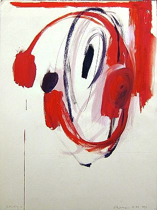 DALE CHISMAN ESTATE, STUDY 6 (NYC) acrylic on paper with graphite