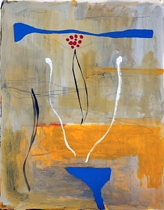 DALE CHISMAN ESTATE, STUDY FOR A PAINTING acrylic and graphite on watercolor paper