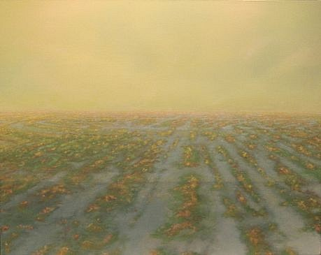 PETER DI GESU, PLACE OF DEAD ROADS oil on canvas