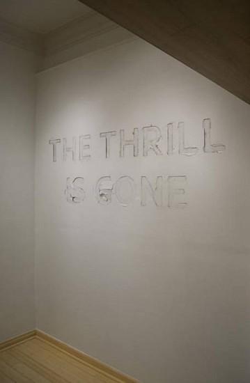 BRANDON BULTMAN, The Thrill is Gone