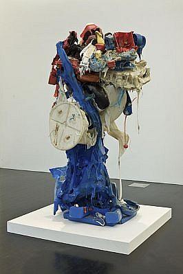 JOHN MCENROE, UNTITLED (BLUE RED) Plastic
