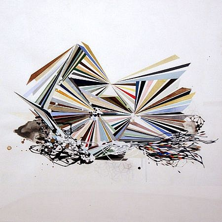 REED DANZIGER, UNTITLED 37803 watercolor, gouache and graphite on paper