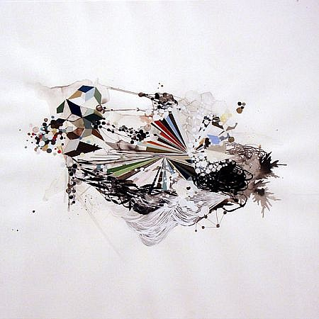 REED DANZIGER, UNTITLED 57808 watercolor, gouache and graphite on paper