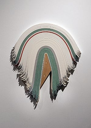 DERRICK VELASQUEZ, UNTITLED 42 vinyl and maple