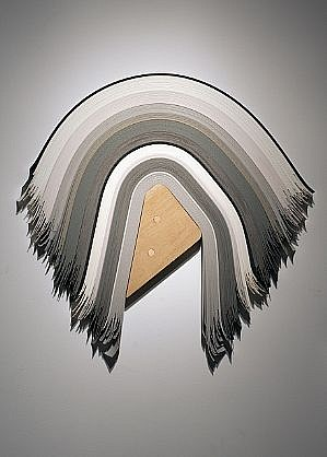 DERRICK VELASQUEZ, UNTITLED 43 vinyl and maple