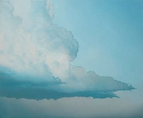 IAN FISHER, ATMOSPHERE NO. 36 oil on canvas