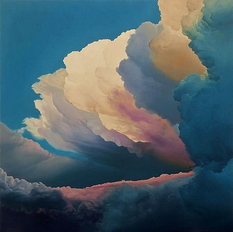 IAN FISHER, ATMOSPHERE NO. 37 oil on canvas