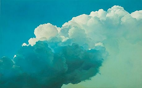 IAN FISHER, ATMOSPHERE NO. 38 oil on canvas