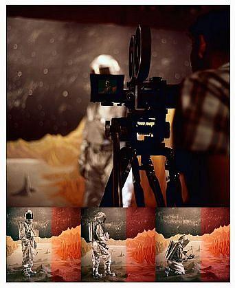GARY EMRICH, BARBRE MARIETTA: MARS MINING pigment print