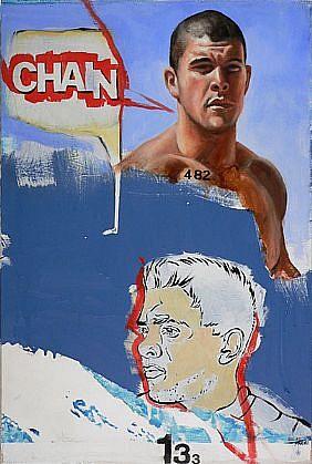 JACK BALAS, CHAIN(GE) oil on canvas