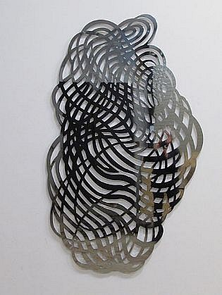 LINDA FLEMING, CUMULUS 1/3 chromed steel