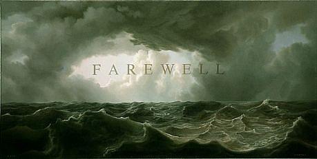 WES HEMPEL, FAREWELL #5 oil on canvas