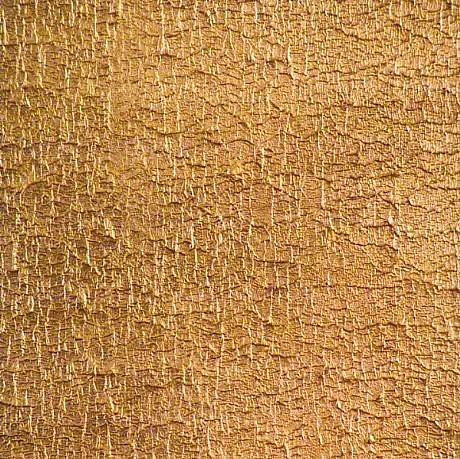 SAMI AL KARIM, FLY LEAF 2 gold pigment, mineral pigment, handmade paper on canvas