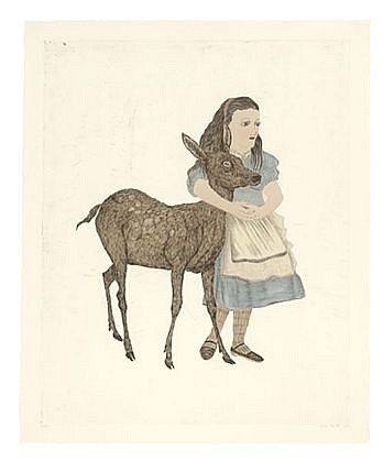 KIKI SMITH, FORTUNE Ed. 30 B.A.T. intaglio