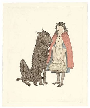 KIKI SMITH, FRIEND Ed. 30 B.A.T. intaglio